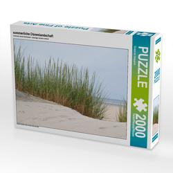 CALVENDO Puzzle sommerliche Dünenlandschaft 2000 Teile Lege-Größe 90 x 67 cm Foto-Puzzle Bild von Susanne Herppich