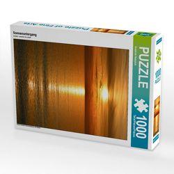 CALVENDO Puzzle Sonnenuntergang 1000 Teile Lege-Größe 48 x 64 cm Foto-Puzzle Bild von Susanne Herppich