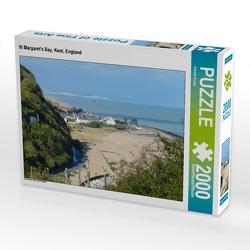 CALVENDO Puzzle St Margaret's Bay, Kent, England 2000 Teile Lege-Größe 90 x 67 cm Foto-Puzzle Bild von Gisela Kruse