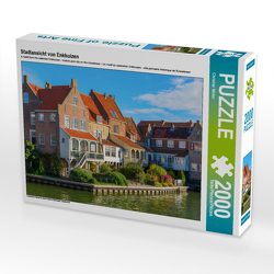 CALVENDO Puzzle Stadtansicht von Enkhuizen 2000 Teile Lege-Größe 90 x 67 cm Foto-Puzzle Bild von Christian Müller