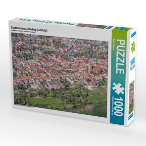 CALVENDO Puzzle Stadtzentrum Jüterbog (Luftbild) 1000 Teile Lege-Größe 64 x 48 cm Foto-Puzzle Bild von Mario Hagen