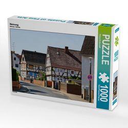 CALVENDO Puzzle Steinweg 1000 Teile Lege-Größe 64 x 48 cm Foto-Puzzle Bild von Petrus Bodenstaff