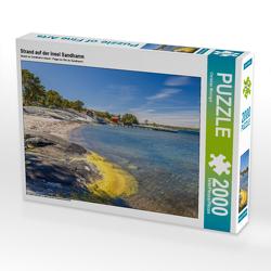 CALVENDO Puzzle Strand auf der Insel Sandhamn 2000 Teile Lege-Größe 90 x 67 cm Foto-Puzzle Bild von Christian Müringer