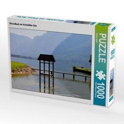 CALVENDO Puzzle Strandbad am Hallstätter See 1000 Teile Lege-Größe 64 x 48 cm Foto-Puzzle Bild von Helene Seidl von Seidl,  Helene