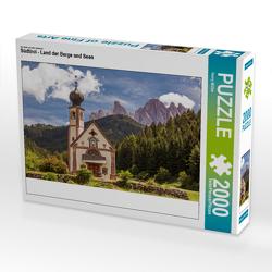 CALVENDO Puzzle Südtirol – Land der Berge und Seen 2000 Teile Lege-Größe 90 x 67 cm Foto-Puzzle Bild von Harry Müller