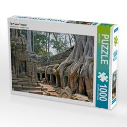 CALVENDO Puzzle Ta Prohm-Tempel 1000 Teile Lege-Größe 64 x 48 cm Foto-Puzzle Bild von Harry Müller