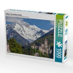 CALVENDO Puzzle Tauferer Tal mit Burg Taufers 1000 Teile Lege-Größe 64 x 48 cm Foto-Puzzle Bild von Christian Müringer