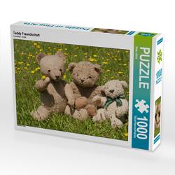 CALVENDO Puzzle Teddy Freundschaft 1000 Teile Lege-Größe 64 x 48 cm Foto-Puzzle Bild von Meike Bölts
