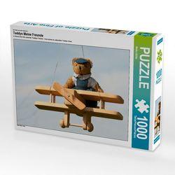 CALVENDO Puzzle Teddys Meine Freunde 1000 Teile Lege-Größe 64 x 48 cm Foto-Puzzle Bild von Meike Bölts