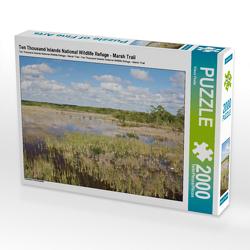 CALVENDO Puzzle Ten Thousand Islands National Wildlife Refuge – Marsh Trail 2000 Teile Lege-Größe 90 x 67 cm Foto-Puzzle Bild von Klaus Feske