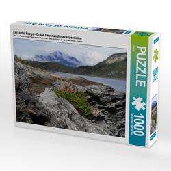 CALVENDO Puzzle Tierra del Fuego – Große Feuerlandinsel/Argentinien 1000 Teile Lege-Größe 64 x 48 cm Foto-Puzzle Bild von Flori0