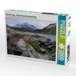 CALVENDO Puzzle Tierra del Fuego – Große Feuerlandinsel/Argentinien 2000 Teile Lege-Größe 90 x 67 cm Foto-Puzzle Bild von Flori0
