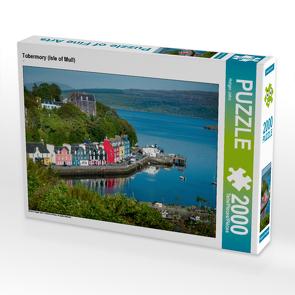 CALVENDO Puzzle Tobermory (Isle of Mull) 2000 Teile Lege-Größe 90 x 67 cm Foto-Puzzle Bild von Holger John