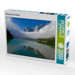 CALVENDO Puzzle Toblacher See in Wolken 2000 Teile Lege-Größe 90 x 67 cm Foto-Puzzle Bild von Harry Müller