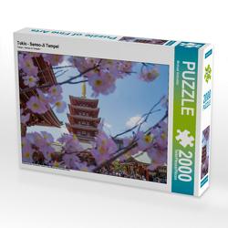 CALVENDO Puzzle Tokio – Senso-Ji Tempel 2000 Teile Lege-Größe 90 x 67 cm Foto-Puzzle Bild von Michael Schindler