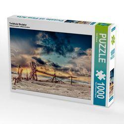 CALVENDO Puzzle Treibholz Skulptur 1000 Teile Lege-Größe 64 x 48 cm Foto-Puzzle Bild von Dirk Wiemer von Wiemer,  Dirk