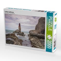 CALVENDO Puzzle Tuahine Lighthouse 2000 Teile Lege-Größe 90 x 67 cm Foto-Puzzle Bild von Christian Franz Schmidt