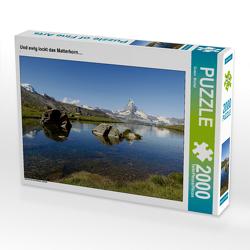 CALVENDO Puzzle Und ewig lockt das Matterhorn…. 2000 Teile Lege-Größe 90 x 67 cm Foto-Puzzle Bild von Susan Michel