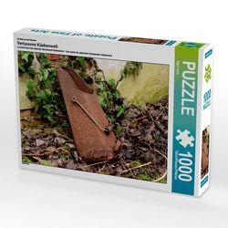 CALVENDO Puzzle Verlassene Küchenwelt 1000 Teile Lege-Größe 64 x 48 cm Foto-Puzzle Bild von Ingo Laue von Laue,  Ingo