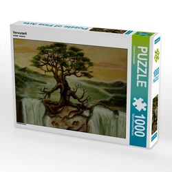 CALVENDO Puzzle Verwurzelt 1000 Teile Lege-Größe 64 x 48 cm Foto-Puzzle Bild von Conny Krakowski