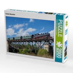 CALVENDO Puzzle Viadukt Mansfeld 2000 Teile Lege-Größe 90 x 67 cm Foto-Puzzle Bild von Steffen Gierok