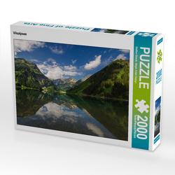 CALVENDO Puzzle Vilsalpsee 2000 Teile Lege-Größe 90 x 67 cm Foto-Puzzle Bild von Steffen Gierok