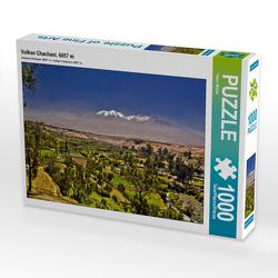 CALVENDO Puzzle Vulkan Chachani, 6057 m 1000 Teile Lege-Größe 64 x 48 cm Foto-Puzzle Bild von Harry Müller