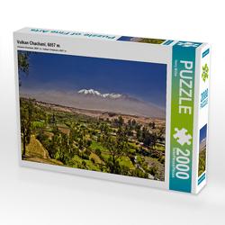 CALVENDO Puzzle Vulkan Chachani, 6057 m 2000 Teile Lege-Größe 90 x 67 cm Foto-Puzzle Bild von Harry Müller