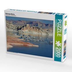 CALVENDO Puzzle Wahweap Marina 2000 Teile Lege-Größe 90 x 67 cm Foto-Puzzle Bild von Dieter-M. Wilczek