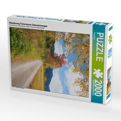 CALVENDO Puzzle Wanderweg Pulvermoos Unterammergau 2000 Teile Lege-Größe 67 x 90 cm Foto-Puzzle Bild von SusaZoom