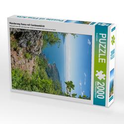 CALVENDO Puzzle Wanderweg Sasso mit Gardaseeblick 2000 Teile Lege-Größe 67 x 90 cm Foto-Puzzle Bild von SusaZoom