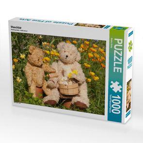 CALVENDO Puzzle Waschbär 1000 Teile Lege-Größe 64 x 48 cm Foto-Puzzle Bild von Meike Bölts