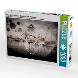 CALVENDO Puzzle Waterworld Polyscape – Geometrie trifft Fotografie 1000 Teile Lege-Größe 64 x 48 cm Foto-Puzzle Bild von Oliver Pinkoss von Pinkoss,  Oliver