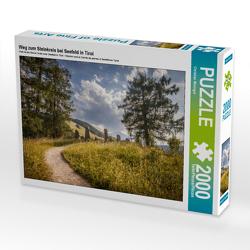 CALVENDO Puzzle Weg zum Steinkreis bei Seefeld in Tirol 2000 Teile Lege-Größe 90 x 67 cm Foto-Puzzle Bild von Christian Müringer
