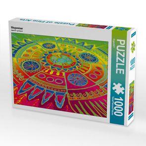 CALVENDO Puzzle Wegweiser 1000 Teile Lege-Größe 64 x 48 cm Foto-Puzzle Bild von EigenART
