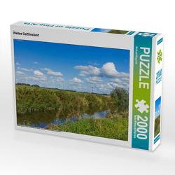 CALVENDO Puzzle Weites Ostfriesland 2000 Teile Lege-Größe 90 x 67 cm Foto-Puzzle Bild von Michael Bogumil