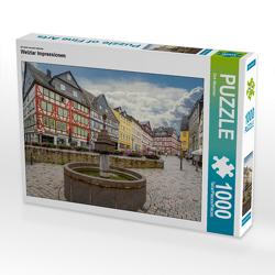 CALVENDO Puzzle Wetzlar Impressionen 1000 Teile Lege-Größe 64 x 48 cm Foto-Puzzle Bild von Dirk Meutzner