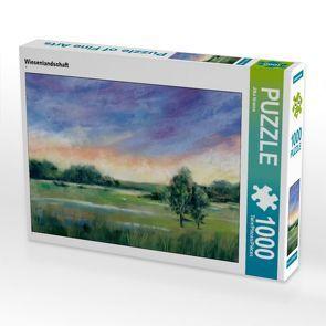 CALVENDO Puzzle Wiesenlandschaft 1000 Teile Lege-Größe 64 x 48 cm Foto-Puzzle Bild von Jitka Krause von Krause,  Jitka