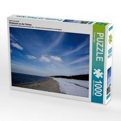 CALVENDO Puzzle Winterzeit an der Ostsee 1000 Teile Lege-Größe 64 x 48 cm Foto-Puzzle Bild von Thomas Jäger von Jaeger,  Thomas