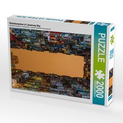 CALVENDO Puzzle Wohnkomplexe in Causeway Bay 2000 Teile Lege-Größe 90 x 67 cm Foto-Puzzle Bild von N N