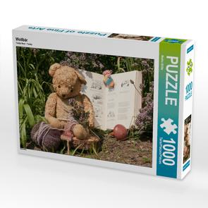 CALVENDO Puzzle Wollbär 1000 Teile Lege-Größe 64 x 48 cm Foto-Puzzle Bild von Meike Bölts