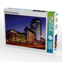 CALVENDO Puzzle World Trade Center Dresden 1000 Teile Lege-Größe 64 x 48 cm Foto-Puzzle Bild von Dirk Meutzner von Meutzner,  Dirk