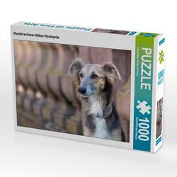CALVENDO Puzzle Wunderschöner Silken Windsprite 1000 Teile Lege-Größe 64 x 48 cm Foto-Puzzle Bild von Fotodesign Verena Scholze