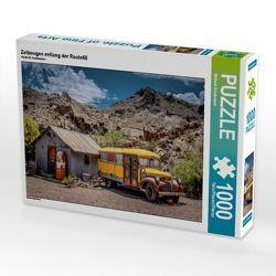 CALVENDO Puzzle Zeitzeugen entlang der Route66 1000 Teile Lege-Größe 64 x 48 cm Foto-Puzzle Bild von Michael Brückmann von Brückmann,  Michael