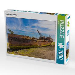 CALVENDO Puzzle Zeugin der Gezeiten 1000 Teile Lege-Größe 64 x 48 cm Foto-Puzzle Bild von TEKTUR