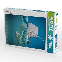 CALVENDO Puzzle ZUCKERBOOT 1000 Teile Lege-Größe 48 x 64 cm Foto-Puzzle Bild von Herzog von Laar am Rhein