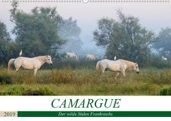 Camargue – Der wilde Süden Frankreichs (Wandkalender 2019 DIN A2 quer) von Schikore,  Martina