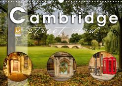 Cambridge street view (Wandkalender 2020 DIN A3 quer) von Schöb,  Monika
