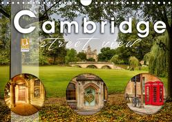 Cambridge street view (Wandkalender 2020 DIN A4 quer) von Schöb,  Monika