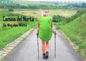 Camino del Norte – Ein Weg ohne Worte (Tischkalender 2019 DIN A5 quer) von Giesecke,  Maren
